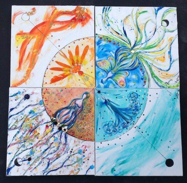 Peinture - Harmonisations de saison