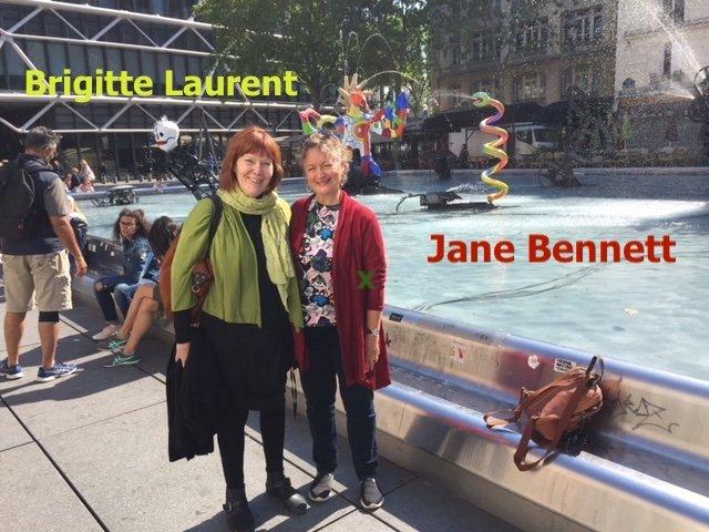 Jane Bennett et Brigitte Laurent