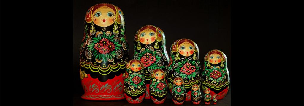Poupées Russes - Lignée de femmes