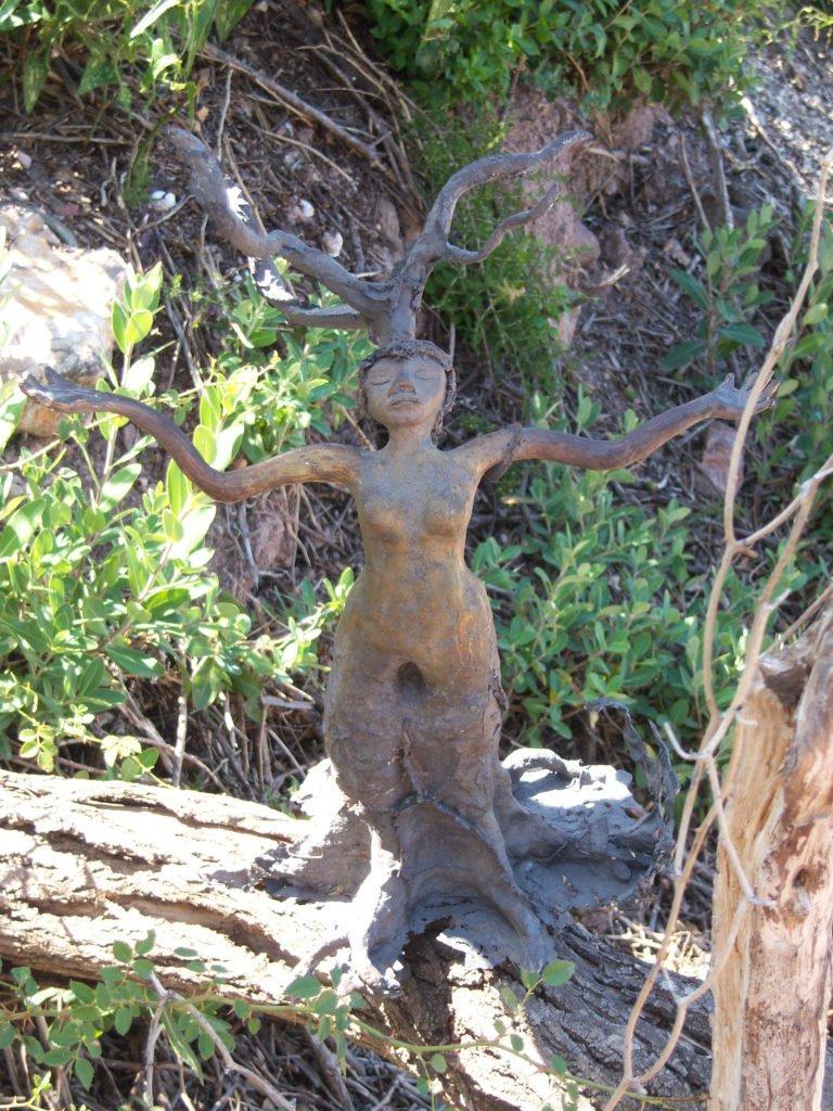 Sculpture Femme-Arbre